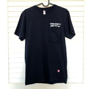 Stussy S/Double Navy Blue T-Shirt